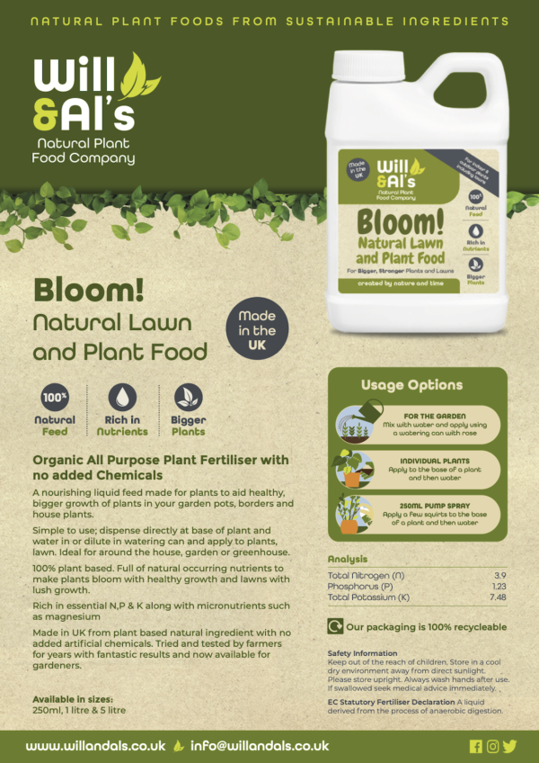 Will & Al's Bloom Product Information